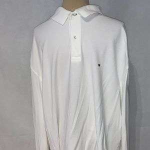 Tommy Hilfiger white long sleeved top size xxl